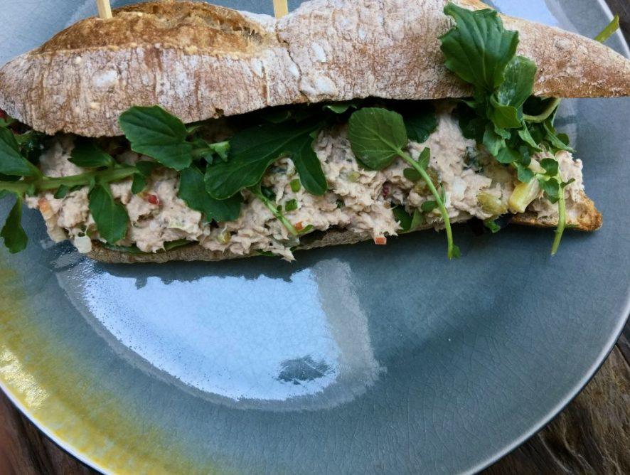Gezonde tonijnsalade recept met Griekse yoghurt