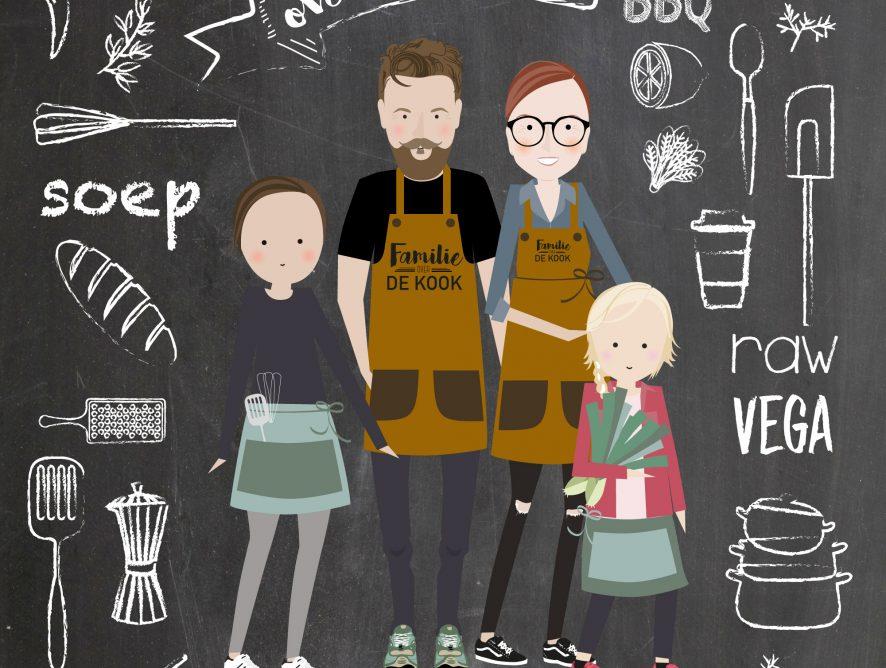 Voorstellen Familie over de Kook dit is onze foodblog