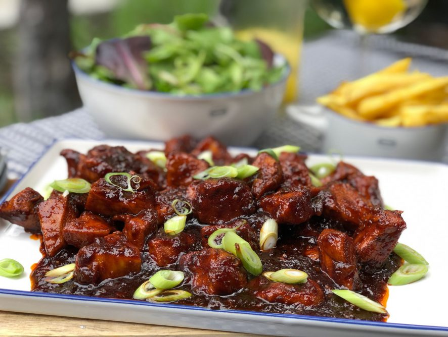 Sticky Chicken: Pittige kip in cola!