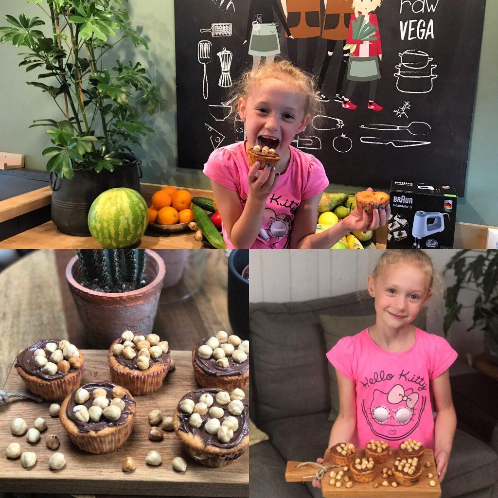 Nutella cupcakes - Familie over de kook