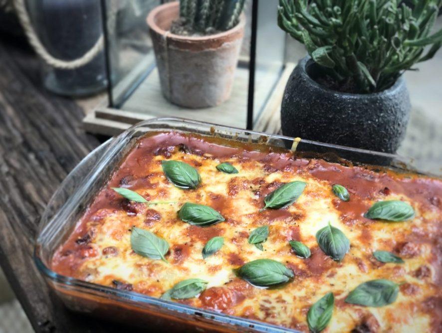 pittige vegetarische gnocchi ovenschotel