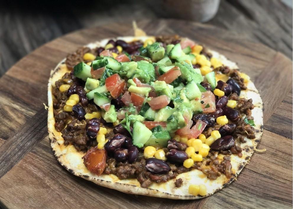 Mexicaanse tostada