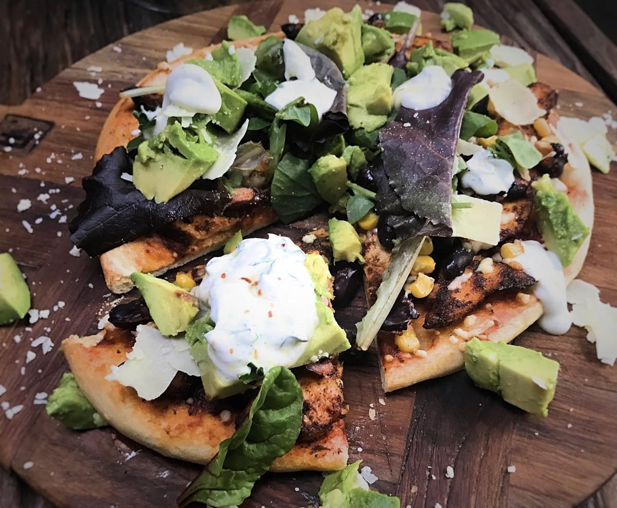 Mexicaanse pizza - Familie over de kook