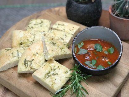 Tomatensoep met Italiaanse gehakballetjes