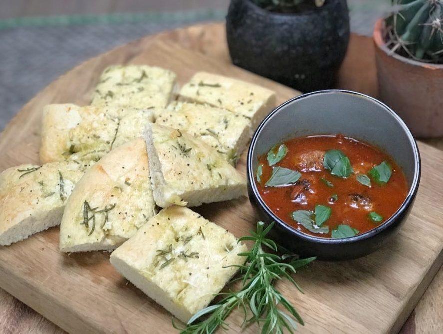tomatensoep met Italiaanse gehaktballetjes