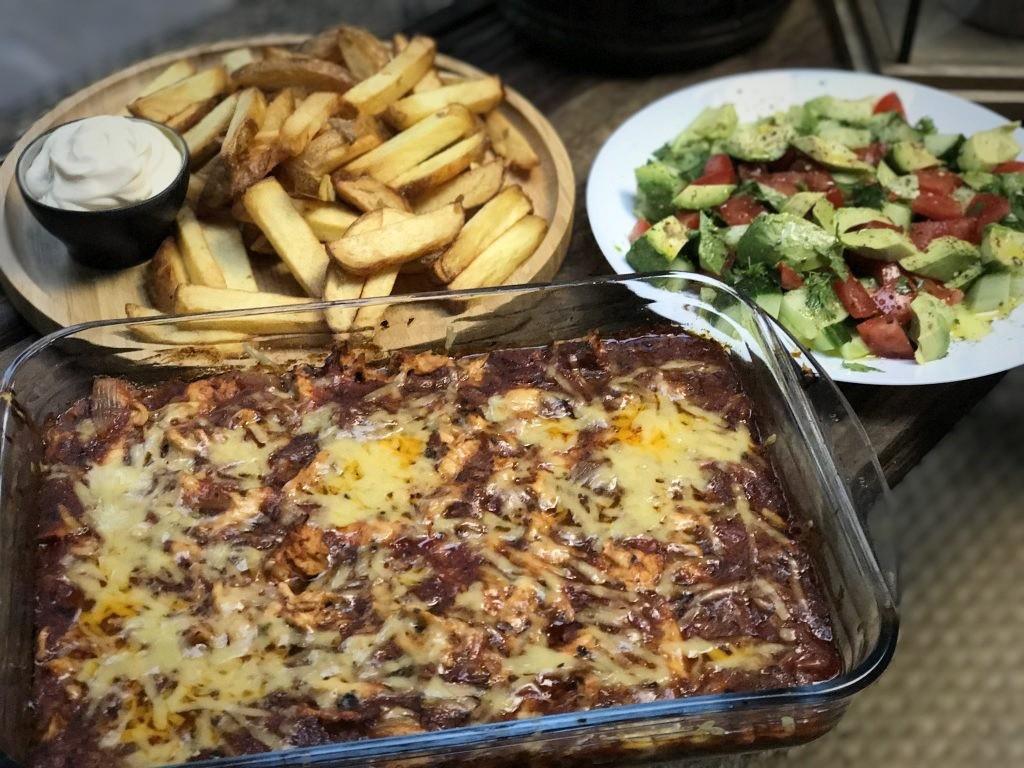 Hete kip ovenschotel - Familie over de kook