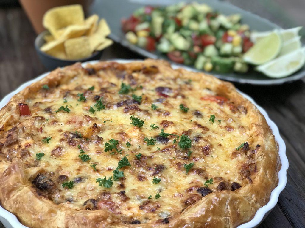 Mexicaanse hartige taart - Familie over de kook