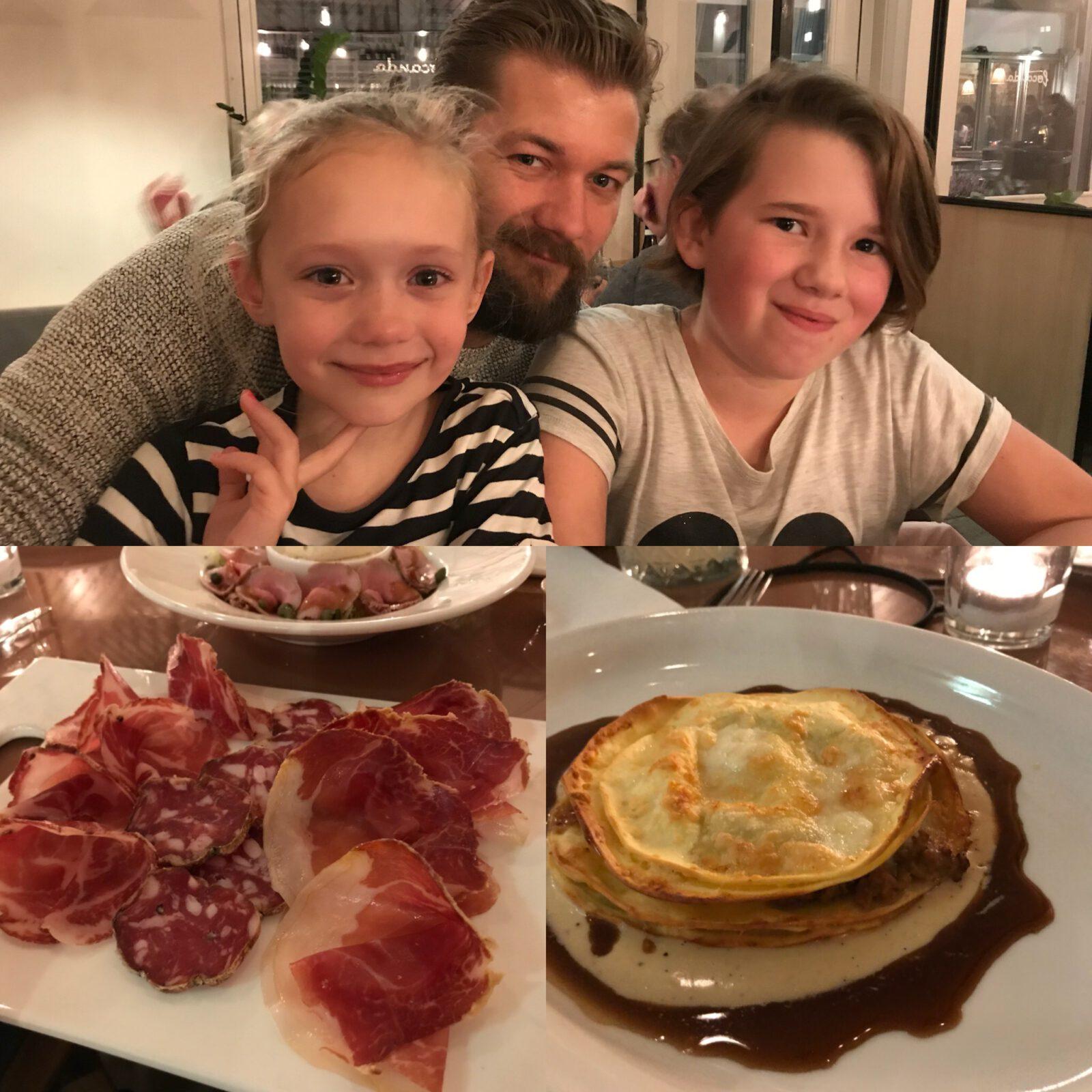 Heerlijk Italiaans eten bij Locanda - Familie over de kook