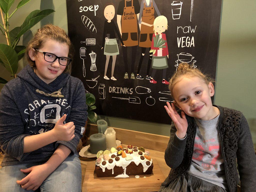 Super simpele Sinterklaas cake - Familie over de kook