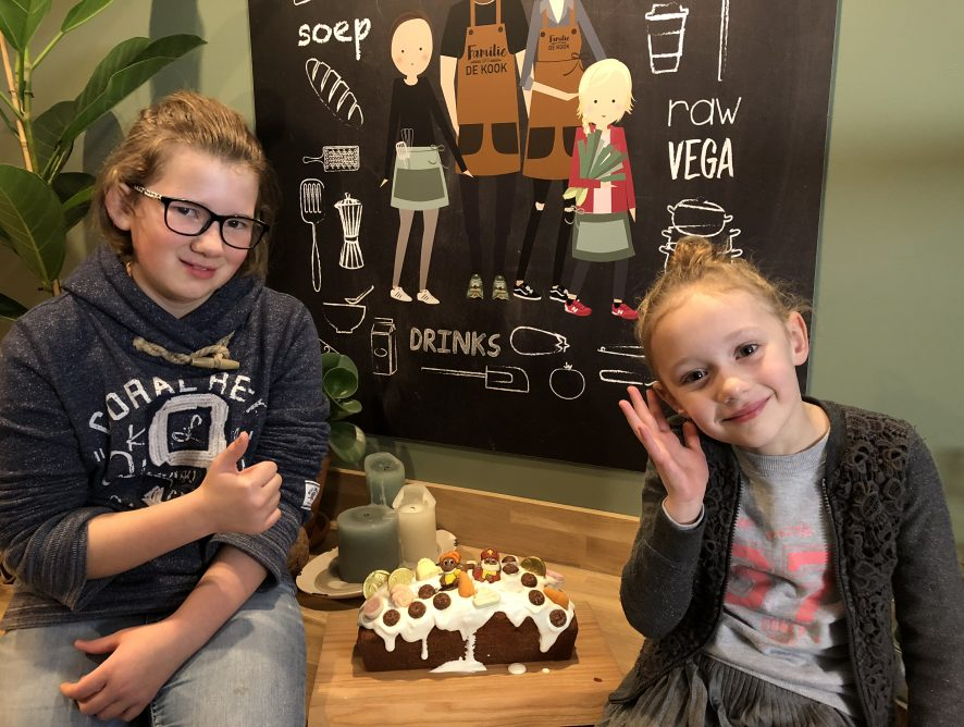Super simpele Sinterklaas cake