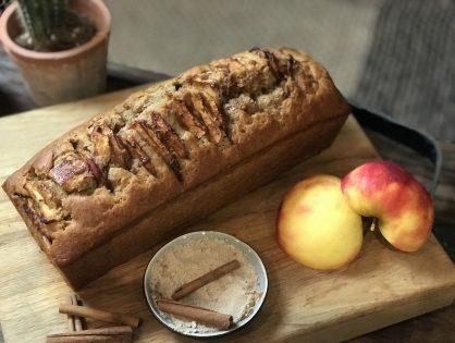 chai cake met appel en speculaaskruiden
