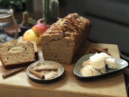 Herfstige chai cake met appel en speculaaskruiden