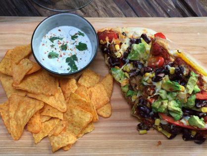 Mexicaanse pizza: vegetarisch recept!