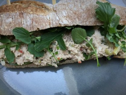gezonde tonijnsalade: voor op brood of op een toastje