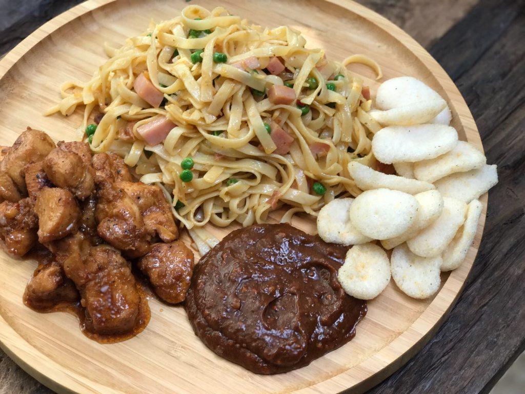 Chinese bami maken