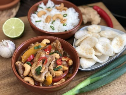 Thaise kip cashew