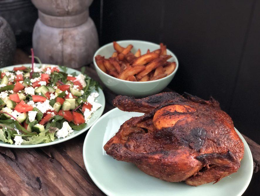 Paaskip: pittige hele kip uit de oven