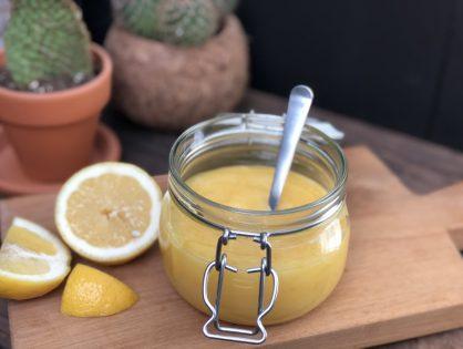 Basisrecept: zelf lemon curd maken