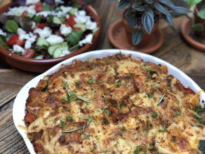 aardappel ovenschotel met tonijn