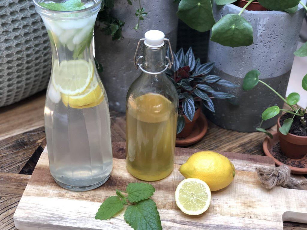 citroenlimonade siroop maken