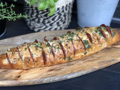 Spaans gevuld stokbrood