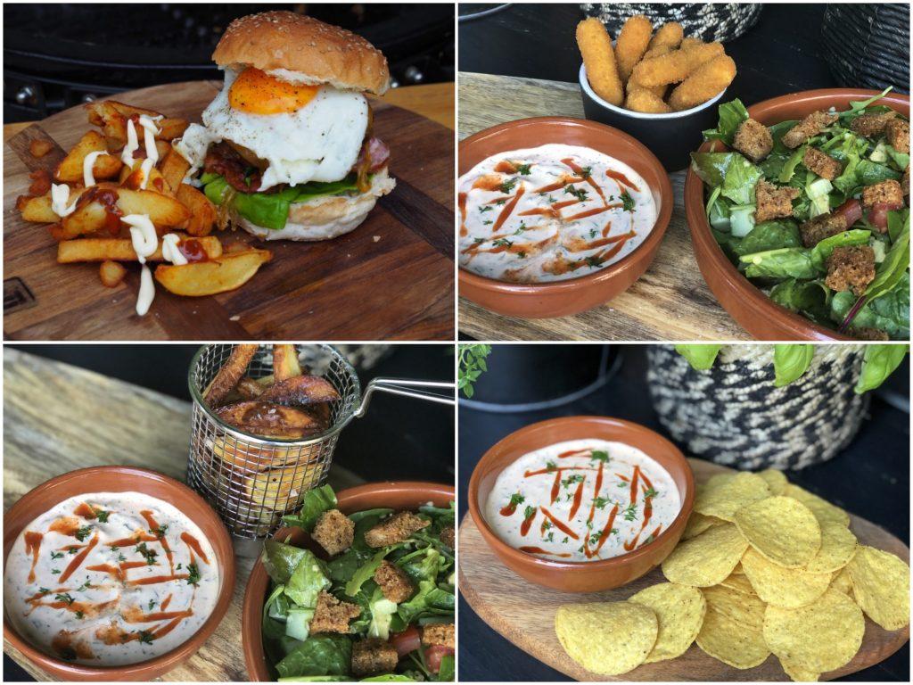 Sausjes tip! pittige dipsaus - hamburgersaus met sriracha en kruiden - Familie over de kook