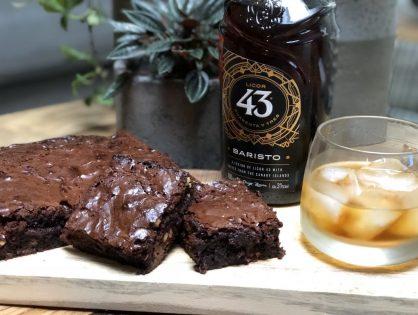 makkelijke brownie met licor 43 baristo