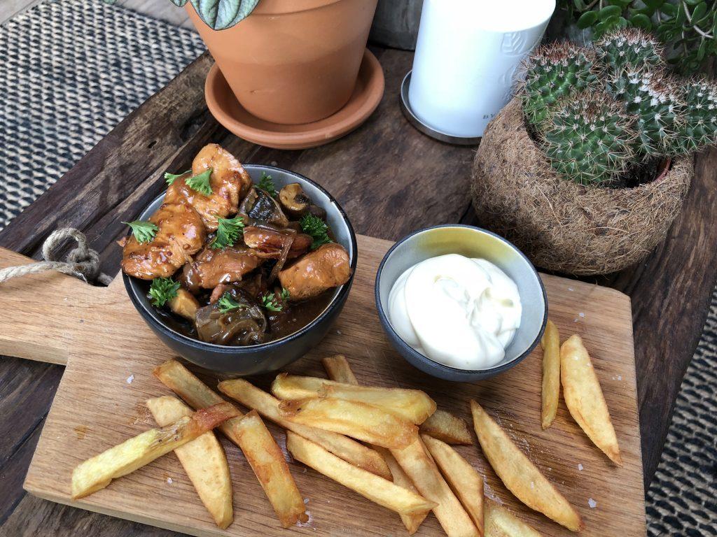 zelfgemaakte patat, friet