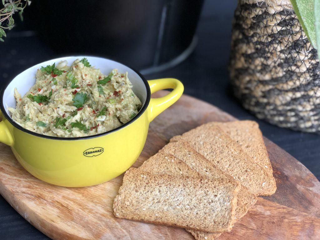 recept avocado kip salade