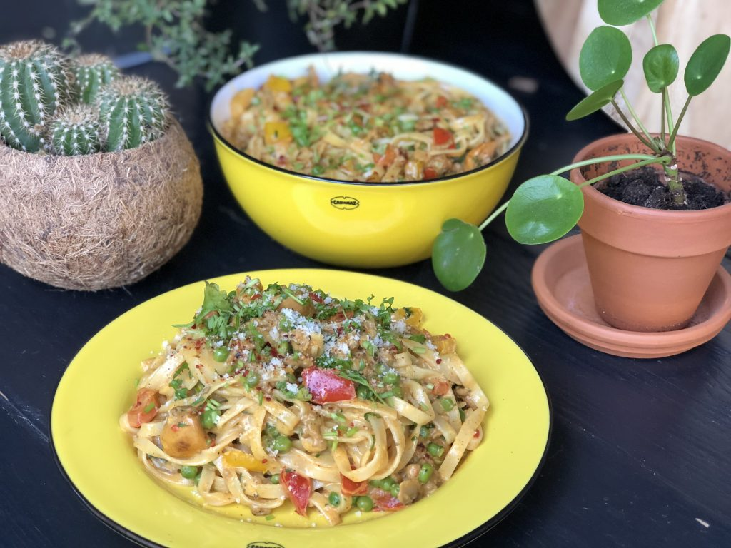 recept bami in kruidige roomaus
