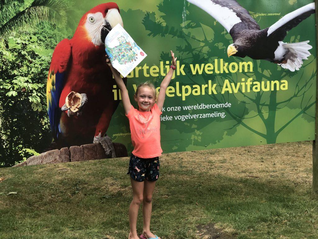 Vogelpark Avifauna met kinderen