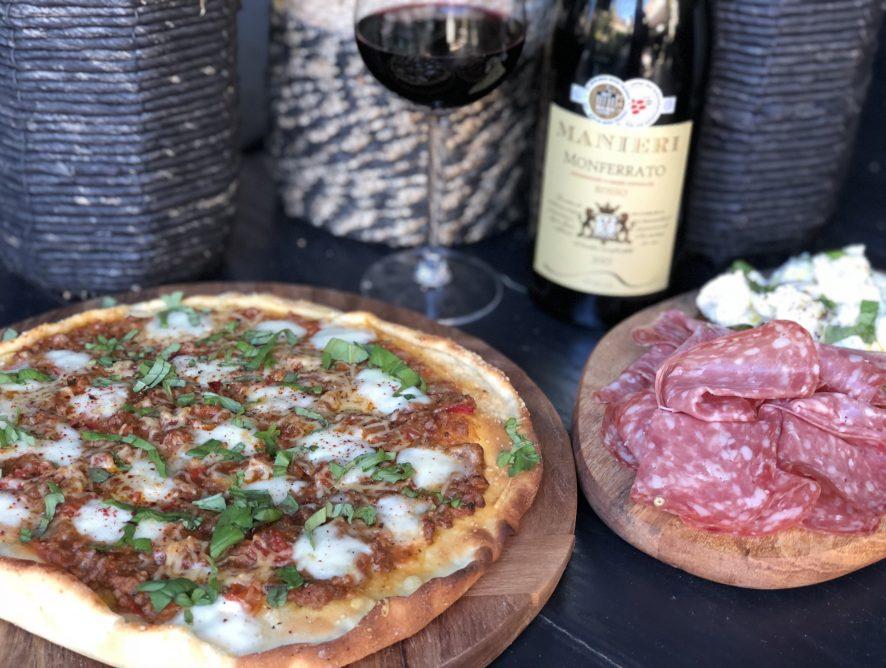 zelf pizza Bolognese maken