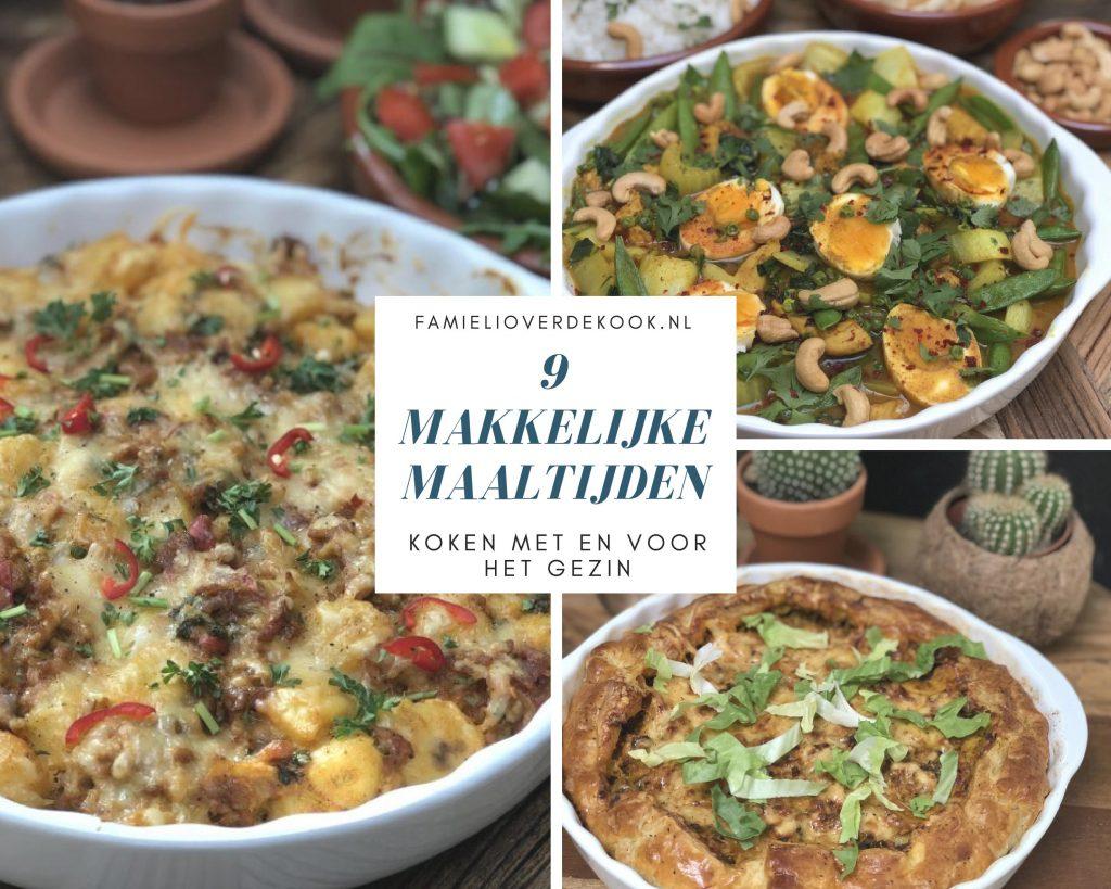 9 makkelijke maaltijden die klaar zijn binnen 30 minuten - Familie over de kook