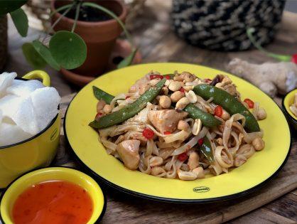bami met kip en groenten