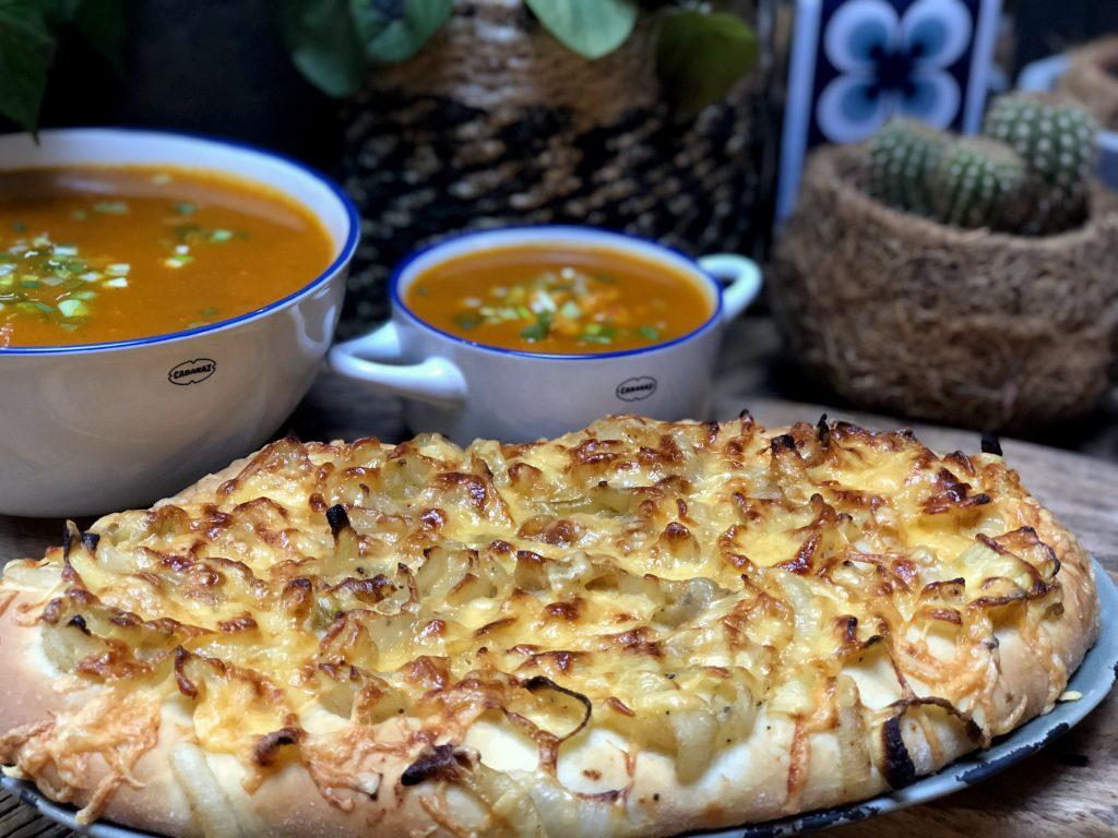 recept zelf een uienkruier ofwel kaas uienbrood maken