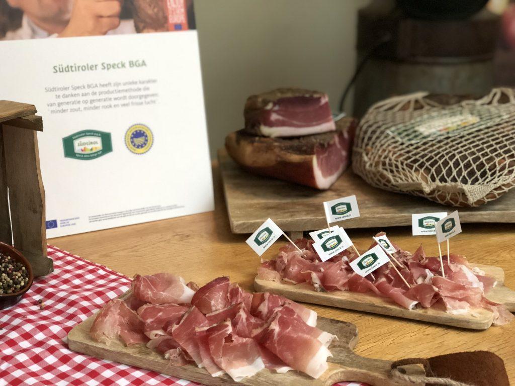 Zuid Tiroolse recepten met Südtiroler Speck BGA