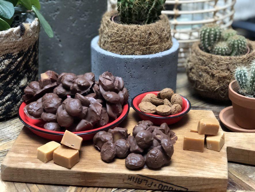 kruidnotenrotsjes met fudge: waanzinnig lekker