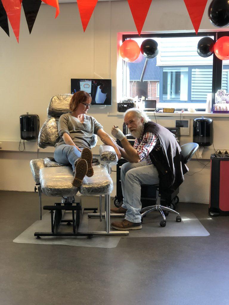 tattoo laten zetten bij Bully Boy in Hoofddorp