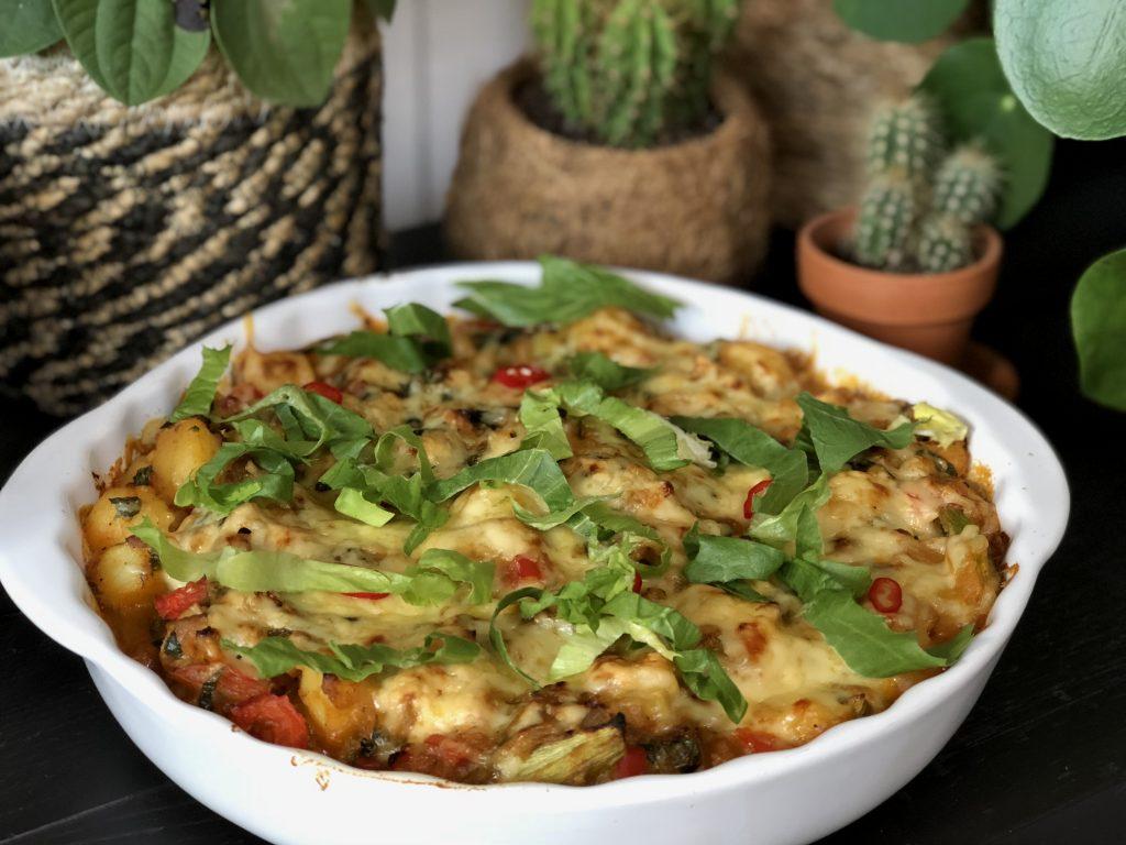 ovenschotel met krieltjes en andijvie - Familie over de kook