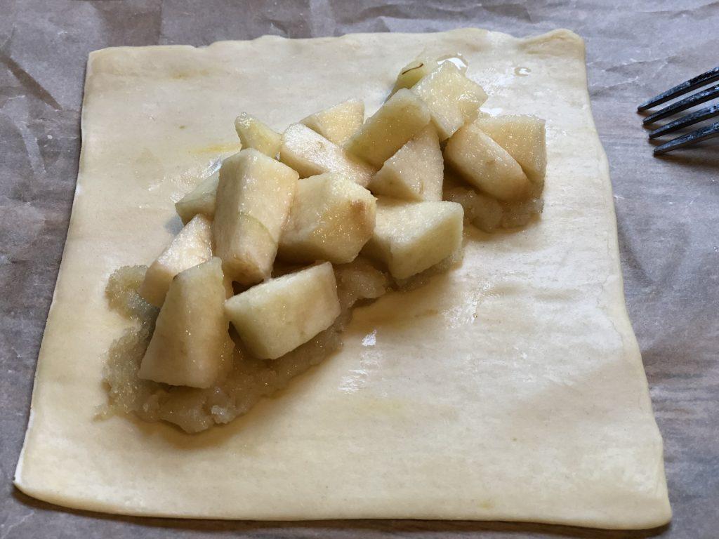 recept appelflappen met Licor 43 en amandelspijs maken