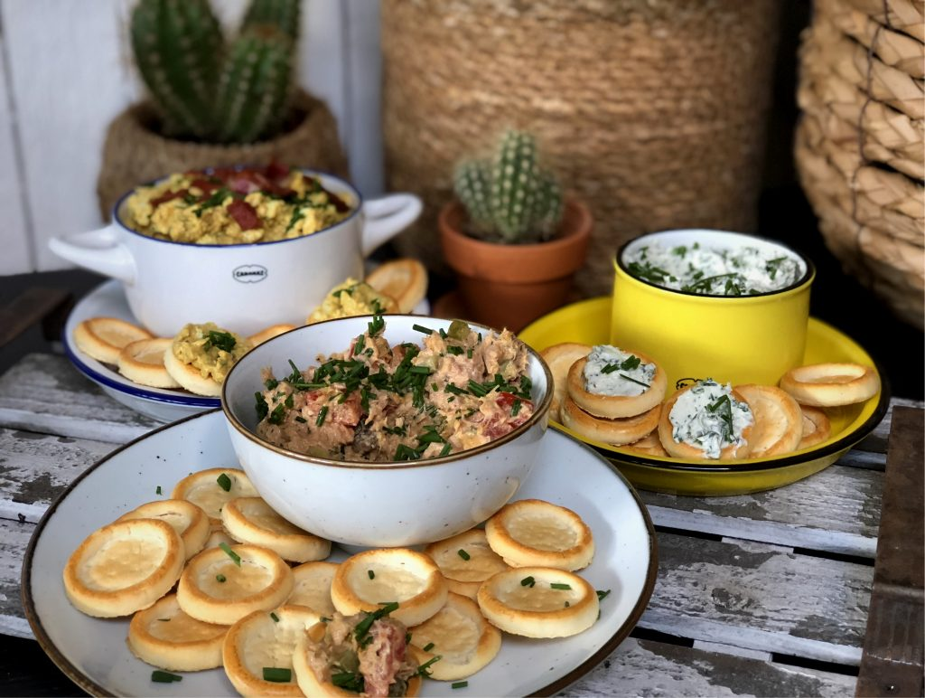 recept zelf pittige tonijnsalade maken