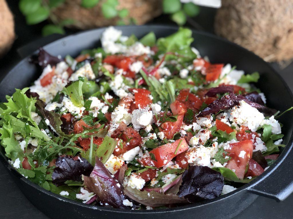 recept salade met tomaat en fetakaas