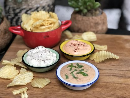 bbq - mayonaise dipsaus voor bij chips