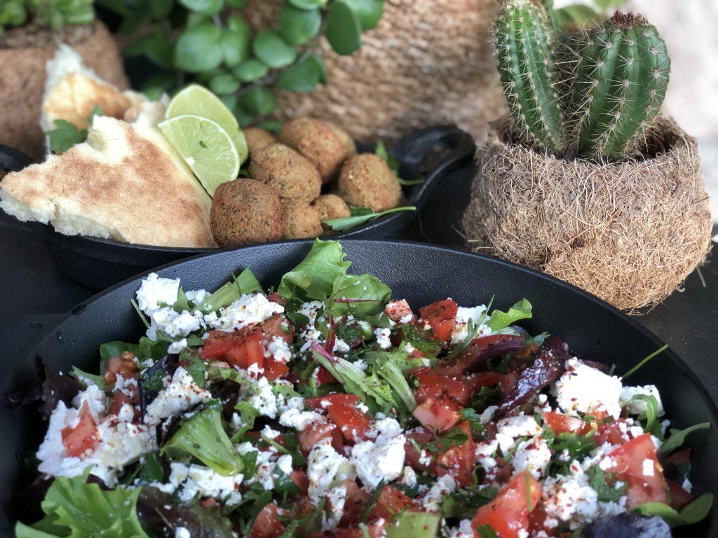 salade met tomaat en fetakaas recept