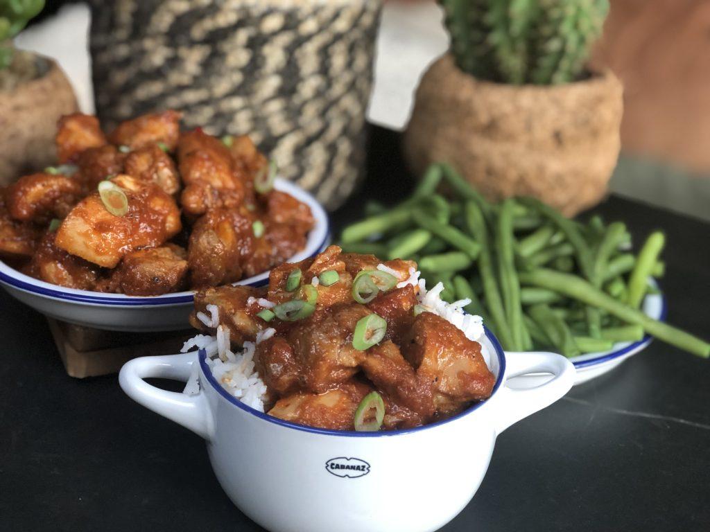recept ajam pedis ofwel hete kip maken. Lekker met rijst en boontjes