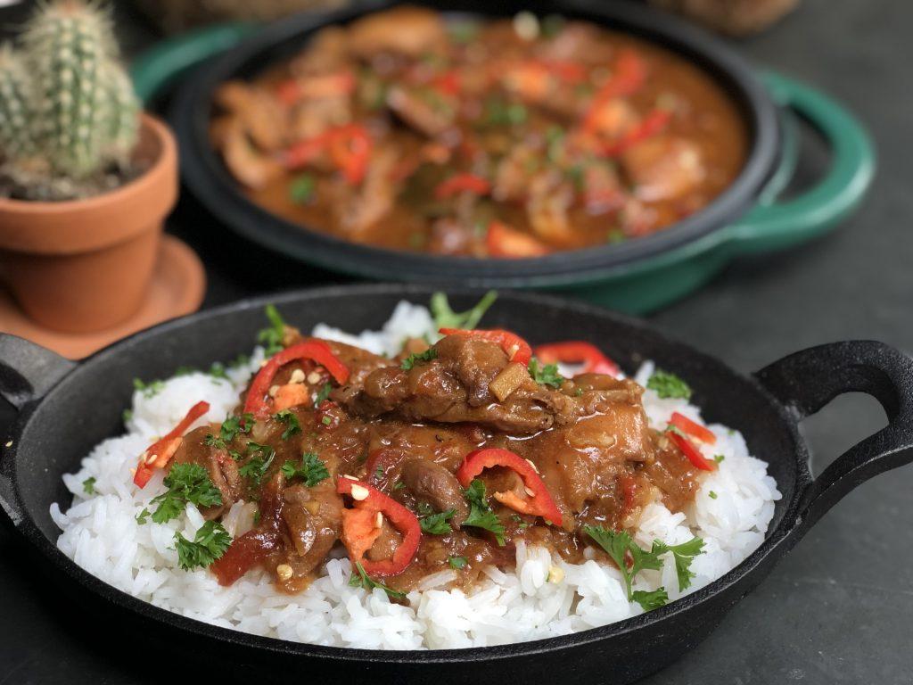 recept Javaanse kip met rijst