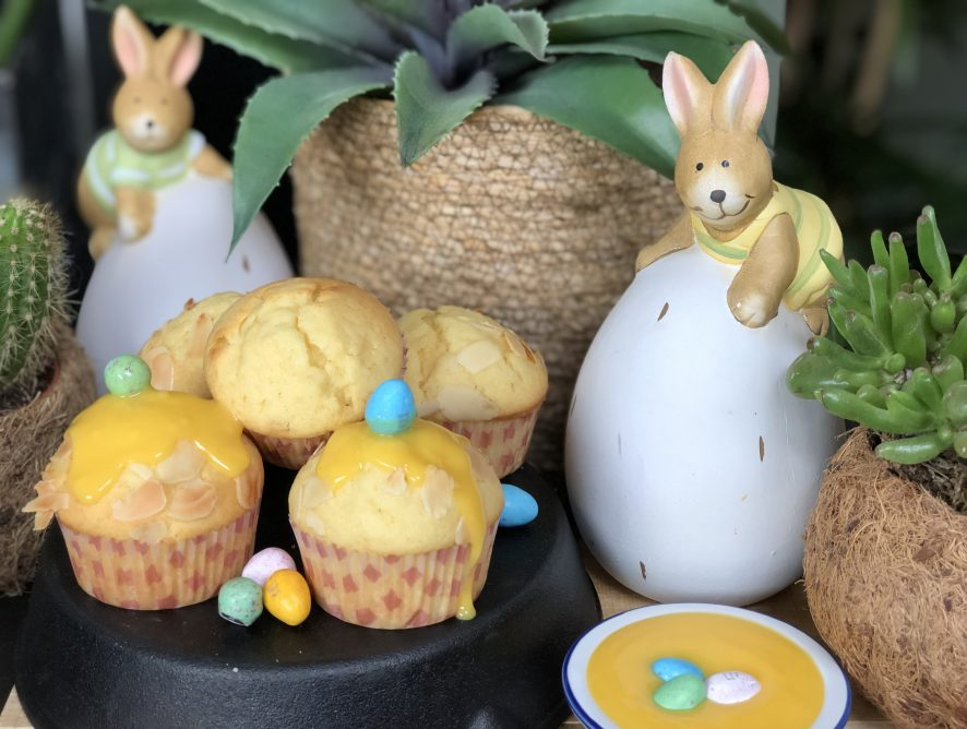 cupcakes met advocaat : leuk voor Pasen