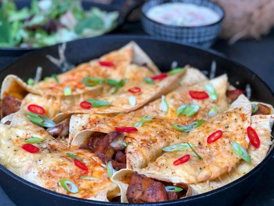 Mexicaanse burritos a là Knorr wereldgerechten