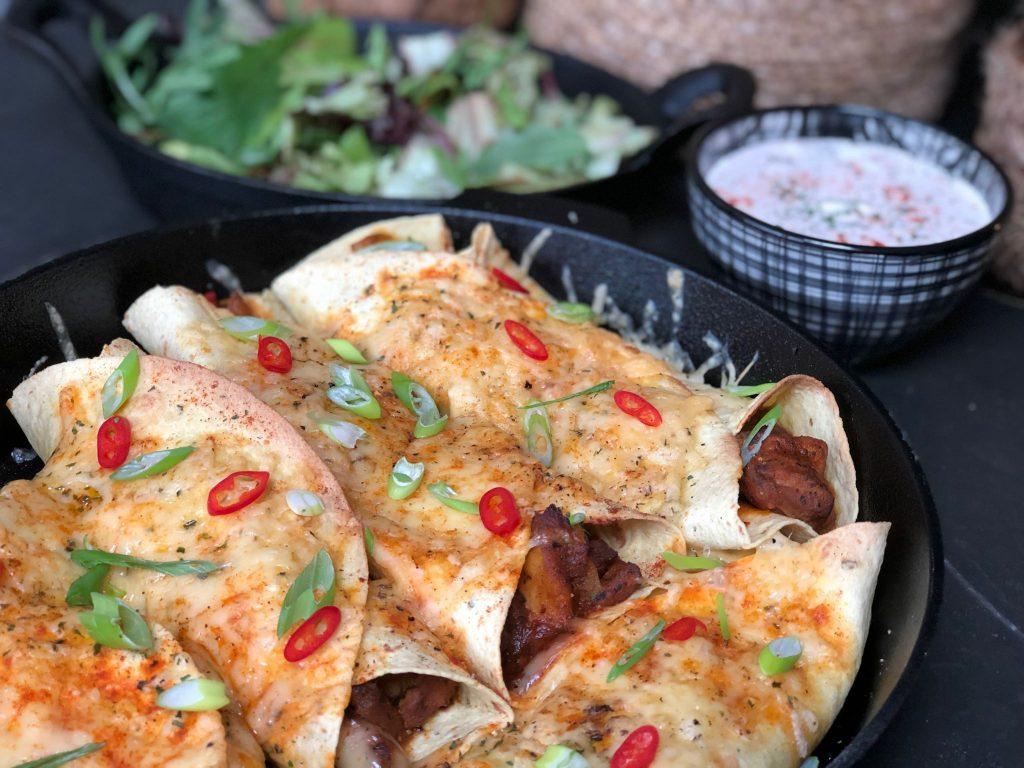 recept Mexicaanse wraps geïnspireerd op de pakken van Knorr Wereldgerechten zelf maken.