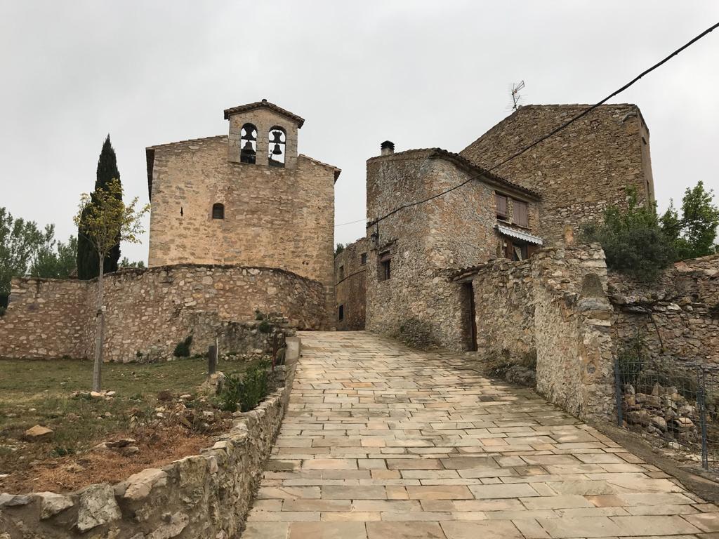 13e eeuws Spaans dorpje Llaberia